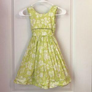 Light Green Sleeveless Cotton Dress From Spain
